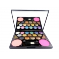 MAC 15 Colors Eyeshadow 2 Color Blusher And 2 Colors Eyebrow Powder (Made In Canada) 02-29gm